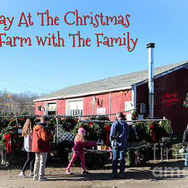 A Day At The Christmas Tree Farm by Diann Fisher
