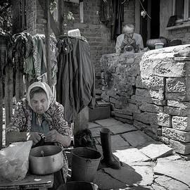 A Day in Budaniw Ukraine by Yuri Lev