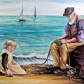 A Day with Granddad New by Andrew Read