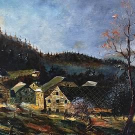 A few old houses by Pol Ledent