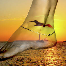 A Foot in the Sunset by Kay Brewer