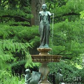 A Fountain From Cave Hill, Louisville, Kentucky. Vision # 1 by Poet's Eye