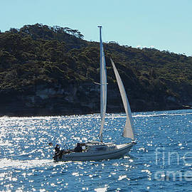 A Glorious Day On Sydney Harbour by Leanne Seymour