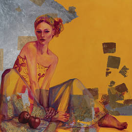 A Golden Day by Dorina Costras