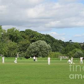 A Great British Tradition - Village Cricket by Lesley Evered