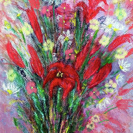 A Handful Of Wildflowers by Jasna Dragun