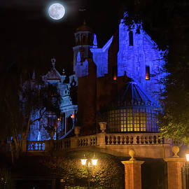 A Haunted Mansion Moon by Mark Andrew Thomas