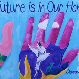A Joyful, Positive Mural From Bermuda Vision # 4 by Poet's Eye