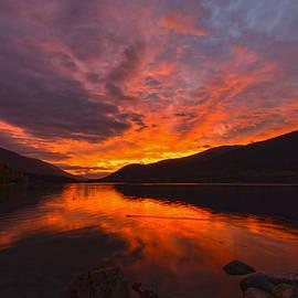 A Kootenay Rockies Sunrise by Joy McAdams
