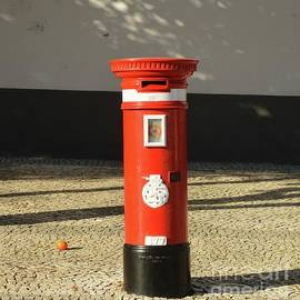 A Mail Box In Faro, Portugal by Poet's Eye
