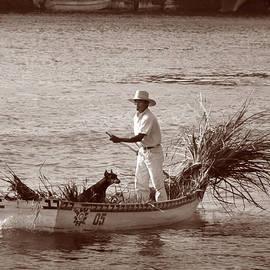 A Man and His Dog, Veracruz, Mexico by Michael Chiabaudo