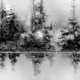 A Misty Morning Panorama by Hazel Holland