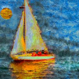 A Moonlit Sail
