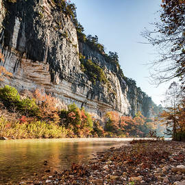 A Morning To Remember - Arkansas Roark Bluff by Gregory Ballos