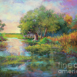 New Day in the Marsh - Morning Sunrise by Dianne Parks