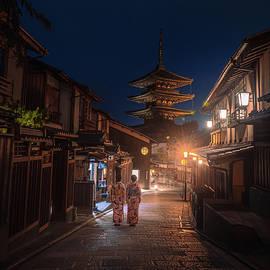 A night in Kyoto  by Josh Kathey