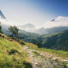 A Path Among The Mountains by Nicklas Gustafsson