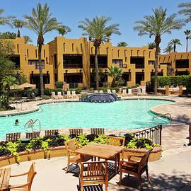 A Pool at The Wigwam, Litchfield Park, Arizona, USA by Derrick Neill