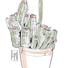 A Pot Cactus by Luisa Millicent