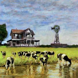 A Prairie Thirst by David Zimmerman