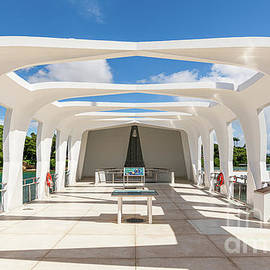 A Private Moment Aboard the USS Arizona Memorial by Phillip Espinasse