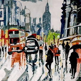 A Rainy Day In Paris by Anand Swaroop Manchiraju