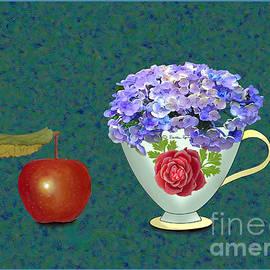 A rose tea cup  by Stella SzeTu