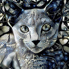 A Russian Blue Cat Named Grayson by Peggy Collins