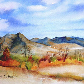 A Slash of Fall, Chino Hills by Janice Sobien