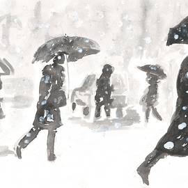 A Snowy Day in the City by Eileen Backman