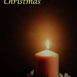 A Solemn Christmas Candle by Maria Faria Rodrigues