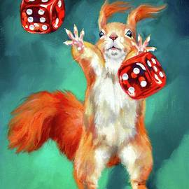 A Squirrelly Gamble  by Jessie Kennedy Steinberg
