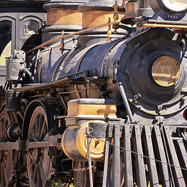 A Steam Locomotive at Old Tucson, Tucson, AZ, USA by Derrick Neill