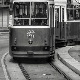 A Street Car in Vienna by Kathi Isserman