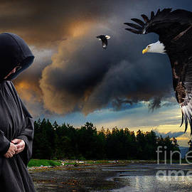 A Summoning Of Eagles...The Eagle Whisperer by Bob Christopher