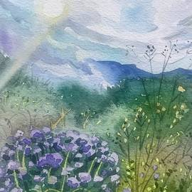 A Sunny Spring Day in Topanga  by Luisa Millicent
