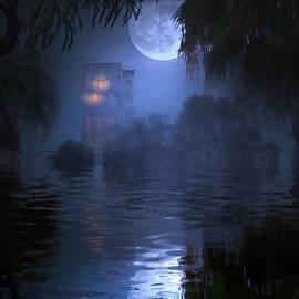 A Swampy Halloween by Mark Andrew Thomas