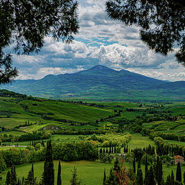 A Tuscan Landscape by Chris Lord
