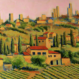 A Tuscan View by David Zimmerman