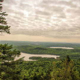 A View from Allagash Mountain by Jan Mulherin