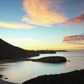 A View of Lalo Cove from Mirador Lookout, San Carlos, Sonora, Mexico by Derrick Neill