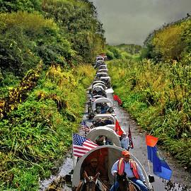 A Wagon Train