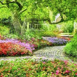 A Walk in the Garden by Betty Denise