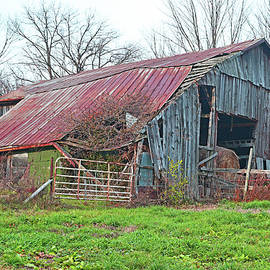 A Well Used Barn by Robert Tubesing
