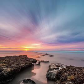 A Winter Sunset by Alexander Kunz