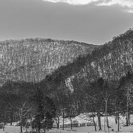 A Winter's Dawn At Bear Mountain by Angelo Marcialis