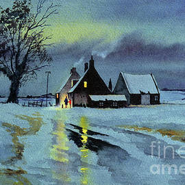 A Winters Evening In England by Bill Holkham