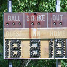 Abandoned America #11 - Baseball Scoreboard by Georgia Threet