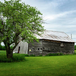 Abandoned Barn in Grand Isle, Vermont 1 by Dimitry Papkov