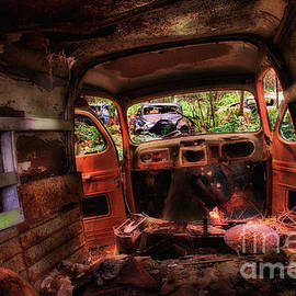 Abandoned Car Series 14 by Bob Christopher